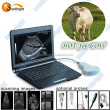 Animals pregnancy scanner ultrasound/portable pregnancy ultrasound scanner