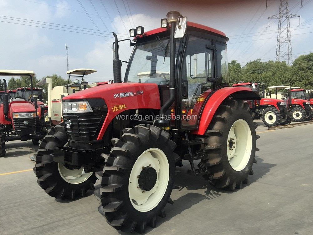 100hp 4wd traktor mit frontlader traktor loader und bagger. Black Bedroom Furniture Sets. Home Design Ideas