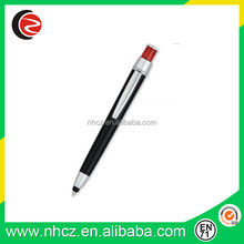 Promotional top quality multi-function ball point pen with stylus