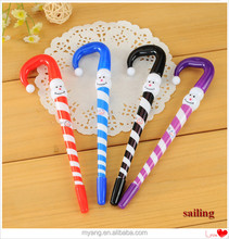Promotional Cartoon Snowman Christmas Advertising Ball Pen ,Advertising plastic Ball Pen