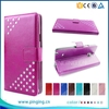 Elegant bling bling case for K-Touch E88A, pu leather for K-Touch E88A
