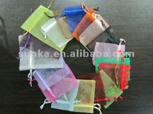 Wholesale Drawstring Wedding Gift Bag Organza Bag candy organza bag