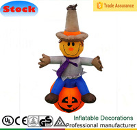 DK-108 Scarecrow halloween inflatable haunted and bounce house for sale
