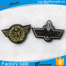 2015 china directly factory custom fancy embroidery mini patches