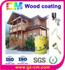 Waterproof clear wood decorative seal coating
