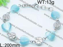 in stocks bracelet on beach