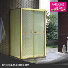 Hangzhou xiaoshan golden shower glass luxury shower room