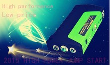 2015 new product 16800mah multi-function car jump starter with air compressor