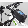 Hoting Phone Bag Cycling Bike Bicycle Frame Pannier Front Tube Pouch Bag