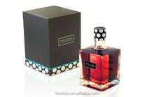 Single package hight quanlity paper perfume packaging box / perfume samples packaging