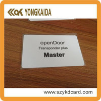 Smart card solutions rfid hotel key card security systems with free samples