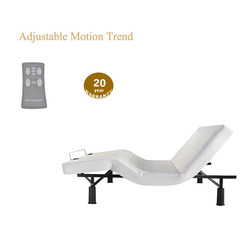 Home Care Nursing Adjustable Bed With Comfortable Parts for Electric Vibrator Massage Motion Trend Bed