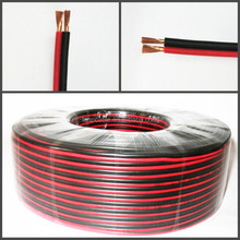 2Pin Extension Red Black Wire Cable Cord for LED Strip Lamp 22AWG
