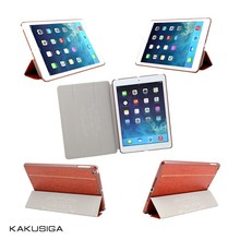H&H luxury smart flip leather waterproof shockproof case for the new ipad 3