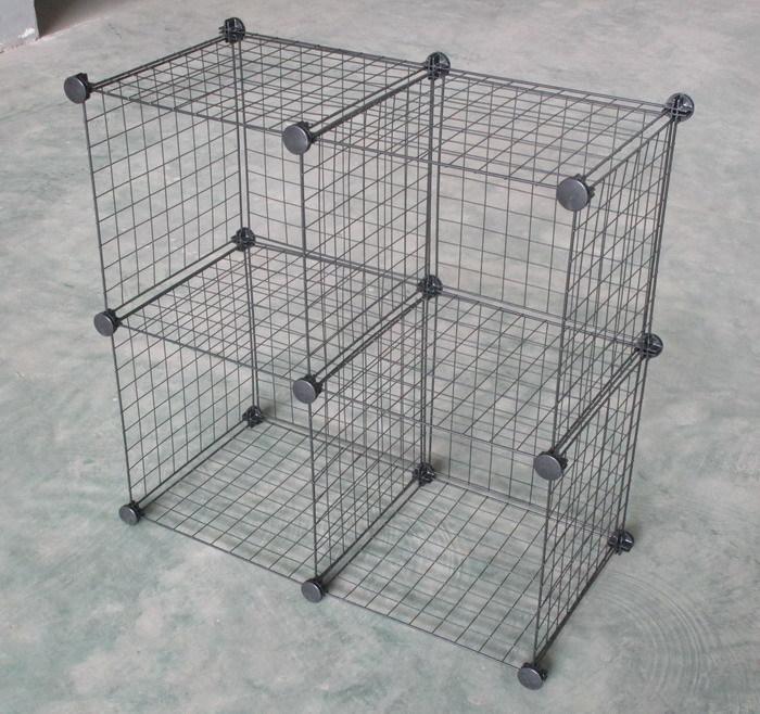 Accueil utilisation fil m tallique cube de rangement porteurs tag res - Cube metallique rangement ...