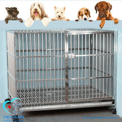 304 # stainless steel cages for dog