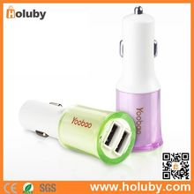 Yoobao YB-204 2.1A Dual USB Ports Travel Charger Car Charger Adapter