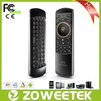Factory Supplier Air Mouse Mini Wireless Keyboard for Samsung Smart TV with IR Remote Control