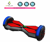 The latest 8.0 inch tire mini smart self balance scooter monorover r2 two wheel self balancing electric scooter