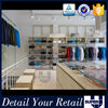 Luxury shop advertising for store equipment dresses wood display cabinet