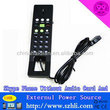 USB skype phone with radiation function