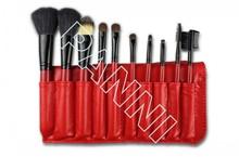 Updated hot sell wood hand 10pcs china makeup brush kit