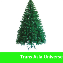 Very popular cheap custom X'mas tree 6ft hinged PVC christmas tree