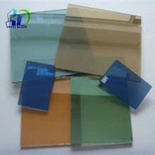 4mm-10mm Tinted Glass With Brown Grey Blue Green Black Colors tinted float glass