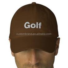 Custom logo printing golf hat