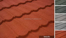 Popular hot selling cheap colorful roof tiles in guangzhou
