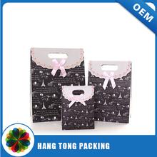 beautiful design gift paper bag custom present packaging paper bag