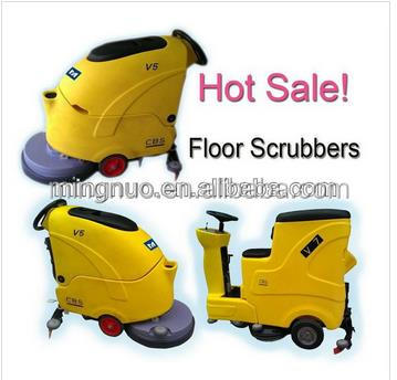 New design a 039 multi functional floor electric scrubber for Industrial concrete floor cleaning machines