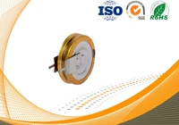 Coin type super capacitor 5.5V 1.5F vertical type