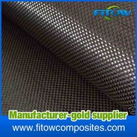 china carbon fiber fabric weave cloth construction materials in stock