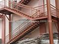 La gran envergadura de acero marco de espacio de almacén de la estructura de garaje jhx-ss1033-l