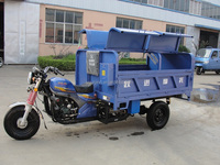 China Sanitation Tricycle/Cargo Tricycle made in China/LIFAN Three Wheel Motorcycle