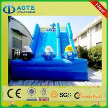 OEM hot sell inflatable toboggan slide