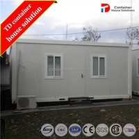 Prefab recycled container guard house