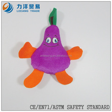 promotional toys/purple carrot & radish/ternip/plush fruit and vegetables toy, Customised toys,CE/ASTM safety stardard