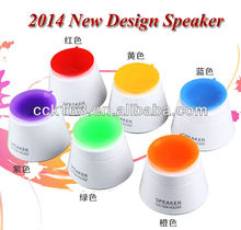 2014 New Design Mini Suction Holder Speaker For Mobile Phone Audio Speakers