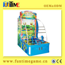 Happy duck water shooting kids lottery redemption game machine