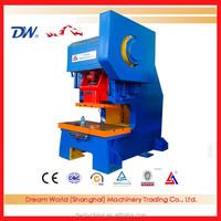 JD21S-125A manual hand press machine , deep throat press , manual punch machine