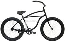 hi-ten steel beach cruiser Fat Tire Bicycle 26 inch Snow Bicycle