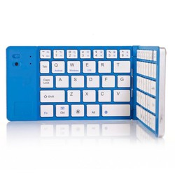 Ultra Slim bluetooth wireless foldable keyboard for phone
