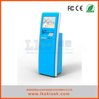high quality self-service outdoor lcd interactive kiosk