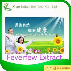 Food Grade Supplement Tanacetum Parthenium Extract/Feverfew Extract Parthenolide/Tanacetum Parthenium Extract