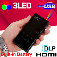 hpt selling hdmi usb 3d TF AV led mini micro handy small projector 1080p for training ppt word excell