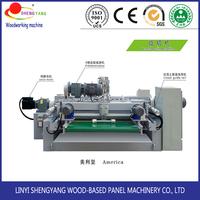 spindleless wood veneer peeling machine/lathe