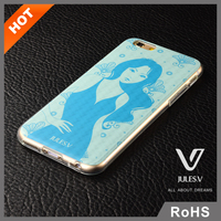 Jules.V brand high quality 3D series beauty pattern design plastic printing sublimation 3D phone case cover for iphone 6