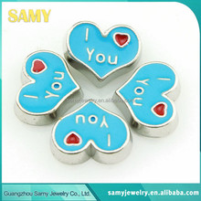 China supplier high quality fashion style newest floating locket charms wholesale